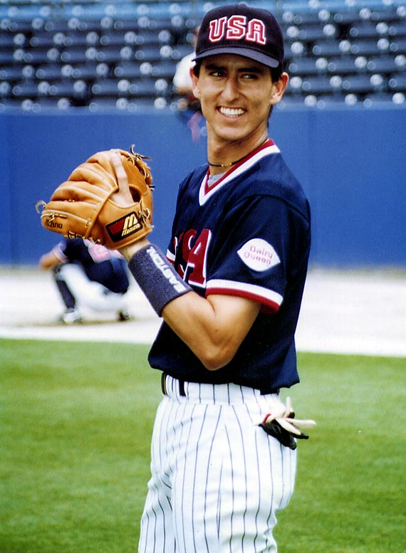 Nomar's wife is the only one with Olympic success in the family. Garciaparra finished with just four hits in seven games as the U.S. failed to grab a medal in the first Olympics in which baseball was an official medal sport.