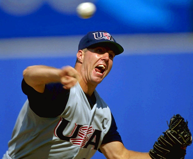 Dickey was a bright pitching spot on the U.S. team that captured the bronze medal mostly thanks to a powerful offense. Dickey went 2-0 with a 3.00 ERA and pitched a complete game.