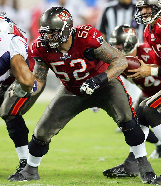 The ex-Brown and Saint grew up two hours from Tampa in Sanford, Fla., and signed the richest contract ever for a center (six years, $37 million).