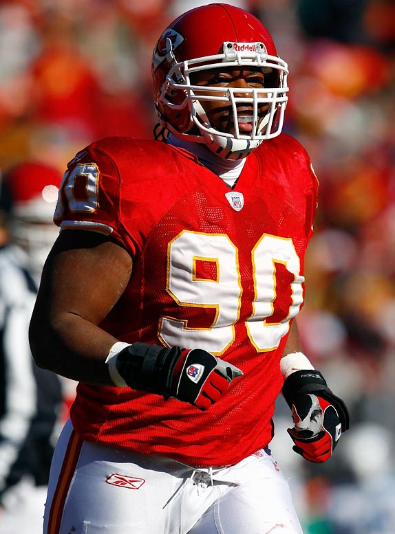 After starting just one game as a rookie, McBride is beginning to assert himself in his second season. The left defensive end is tied for the preseason lead in sacks with three as Kansas City tries to make up for the loss of Jared Allen.