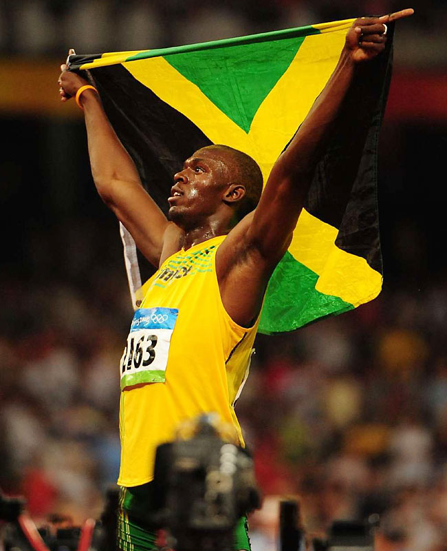"""Asafa Powell on Bolt: """"Usain was spectacular. He was definitely untouchable tonight. He could have gone a lot faster if he had run straight through the line."""""""