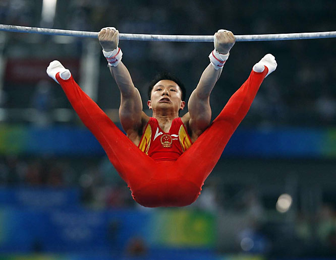 Chinese gymnast Chen Yibing.