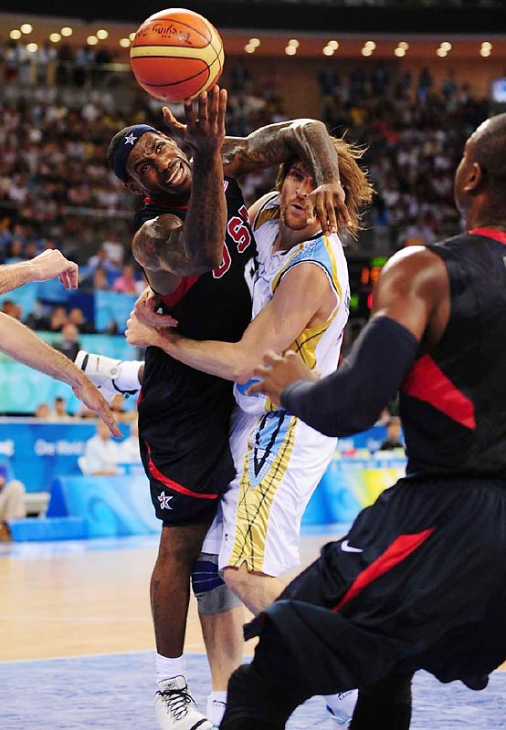 Argentina gave LeBron James and the U.S. its toughest game of these Olympics, but the Redeem Team will play for the gold medal after a 101-81 victory.