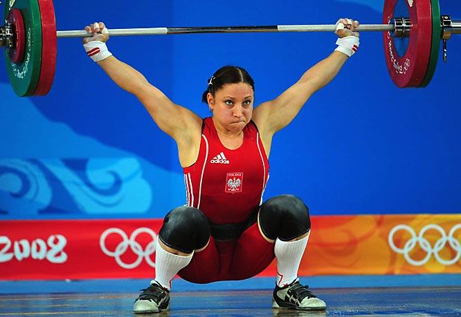 Aleksandra Klejnowska of Poland finished seventh.
