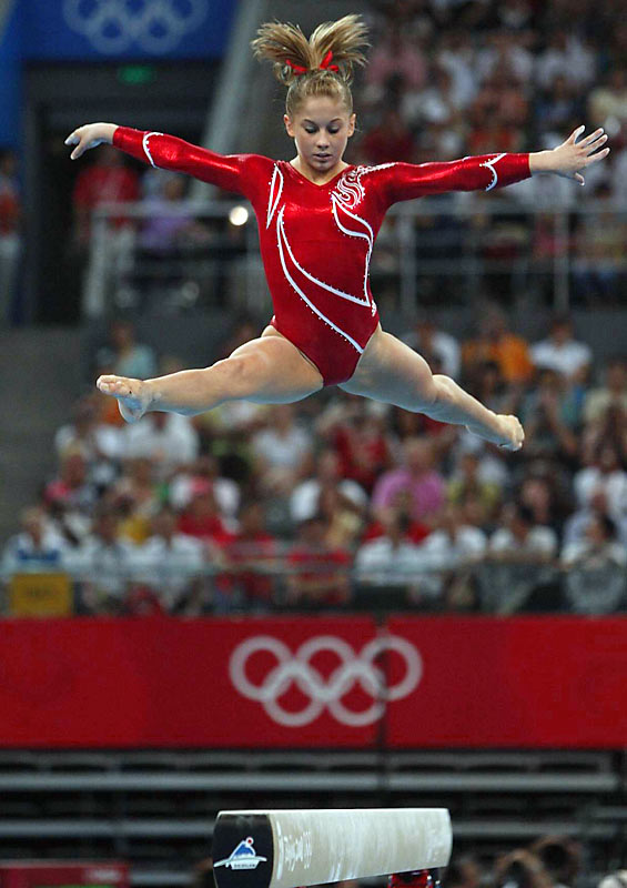 Shawn Johnson and a shaky U.S. team finished with a silver in the team final.