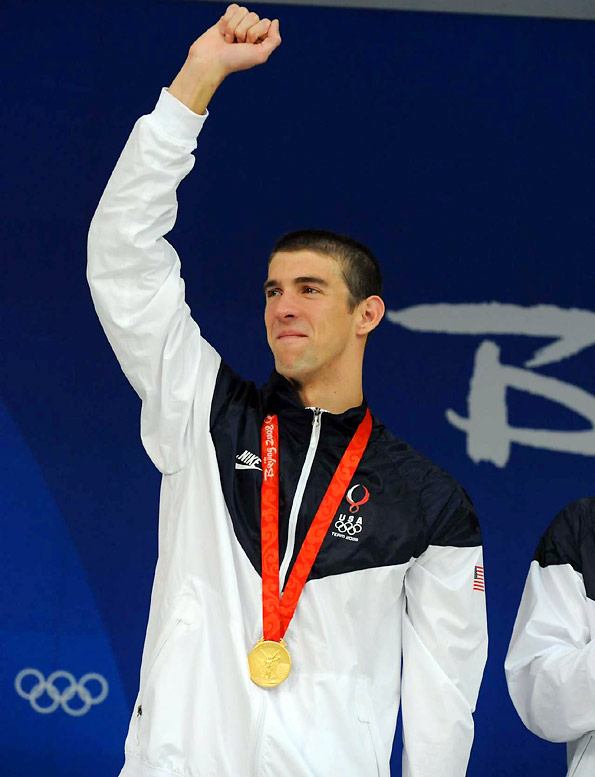 Michael Phelps became the winningest Olympian ever and will leave China with 14 career golds -- five more than anyone else, with at least one more Olympics to go.