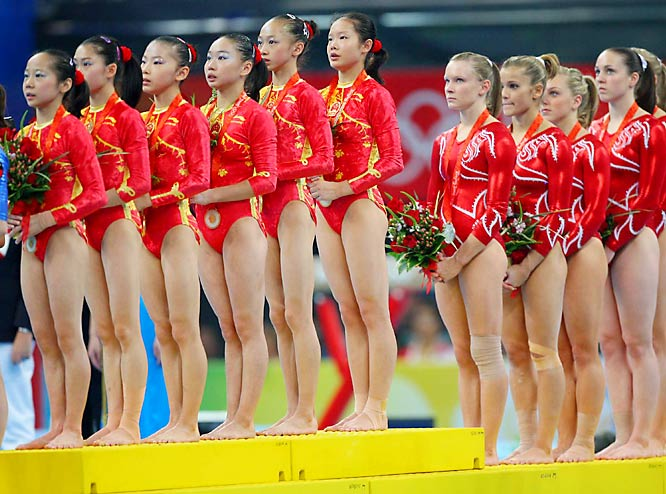 China and the U.S. team.