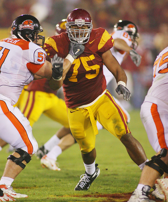 With the unbelievable talent on USC's defense, Moala sometimes gets lost in the shuffle, but his domination in the trenches is central to the Trojans' success. In his third year as a starter, Moala will have his way with Pac-10 offensive lines.