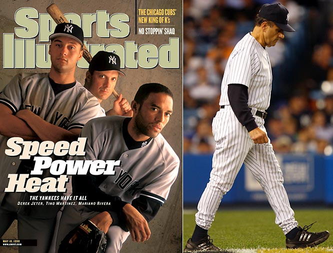 Following a 14-year playoff drought noted more for its off-field drama than on-field success the Yankees managed to edge their way into the playoffs in 1995, only to lose to the Mariners in the AL Divisional Series. But once Joe Torre stepped into the dugout, New York ushered in a 13-year playoff streak that included four World Series titles, six pennants and 10 division titles.