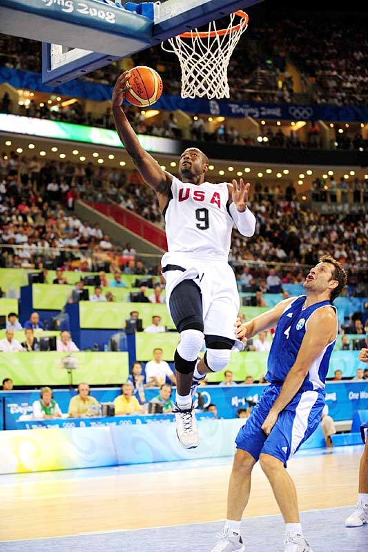 GAME 1 (China): Went 7-of-7 from the field and 5-for-5 from the foul line for a team-high 19 points.<br><br>GAME 2 (Angola): Needed only 16 minutes to score team-high 19 points. He's 13-of-15 from the field in two games.<br><br>GAME 3 (Greece): Stayed hot with 17 points (on 6-of-10 from the field) and added six steals in 20 minutes.<br><br>GAME 4 (Spain): Contributed 16 points and six boards. He's 27-of-37 from the floor overall.<br><br>GAME 5 (Germany): Scored 10 points and -- thanks to some huge dunks -- continued to show that he's healthy. <br><br>GAME 6 (Australia): Rare off game, with eight points on 3-of-8 shooting.<br><br>GAME 7 (Argentina): Slowed by early foul trouble, finished with 12 points.<br><br>GAME 8 (Spain): Made his first seven shots; scored 21 of his 27 points in the first half.