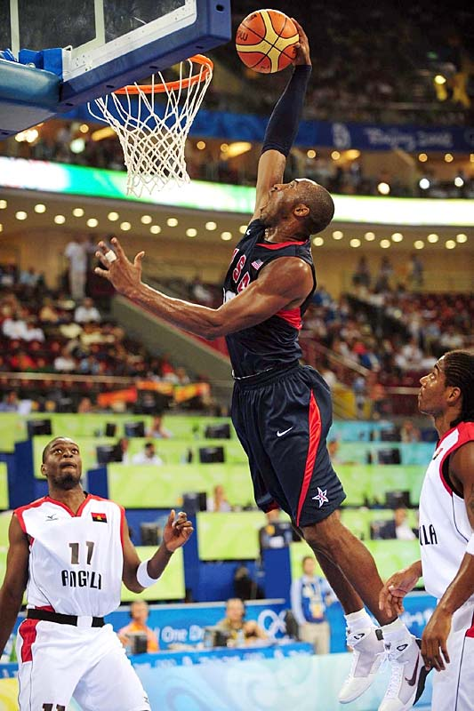GAME 1 (101-70 win vs. China): Scored 13 points in team-high 27 minutes. Made 1-of-7 from three-point range (6-of-14 overall). <br><br>GAME 2 (97-76 win vs. Angola): Missed all eight of his three-point attempts, leaving him 1-for-15 through two games.<br><br>GAME 3 (92-69 win vs. Greece): Scored team-high-tying 18 points and showed improvement from long range (2-of-5).<br><br>GAME 4 (119-82 win vs. Spain): Got into foul trouble early and played just 16 minutes. Still finished with 11 points.<br><br>GAME 5 (106-57 win vs. Germany): Scored 13 points and hit three of Team USA's 11 treys.<br><br>GAME 6 (106-85 win vs. Australia in quarters): His 25 points were the most for a Team USA player through six games.<br><br>GAME 7 (101-81 win vs. Argentina in semis): Scored 12 but slipped to 2-of-9 from long range.<br><br>GAME 8 (118-107 win vs. Spain in final): Scored 13 of his 20 points in the fourth quarter, including a pivotal four-point play.