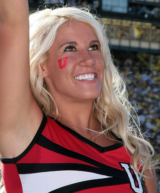 Meet Mindi, a proud Utah cheerleader. The senior Ute loves wake-boarding, riding her Harley to school and other dangerous things. Want to find out more? Click on the 20 Questions link below.