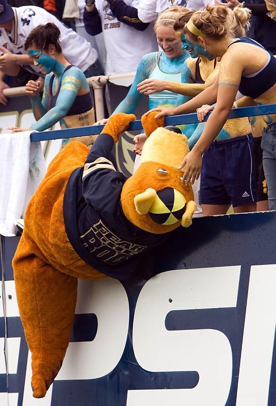 Just because Zippy's the reigning Capital One Mascot of the Year doesn't mean he's got hops.