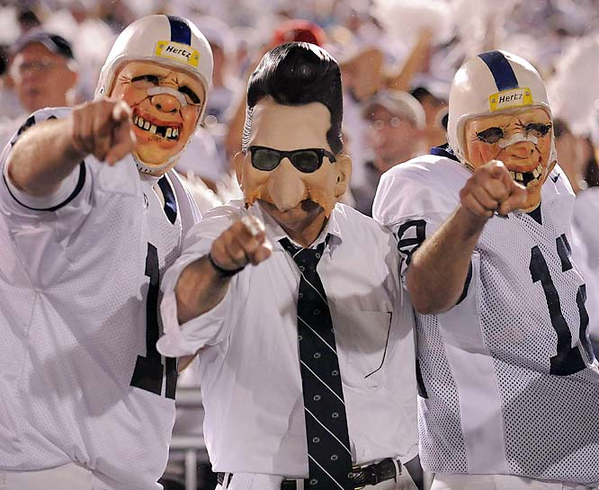 Penn State's performance thus far this season has made it easy for Joe Pa's fans to come out in all their glory.