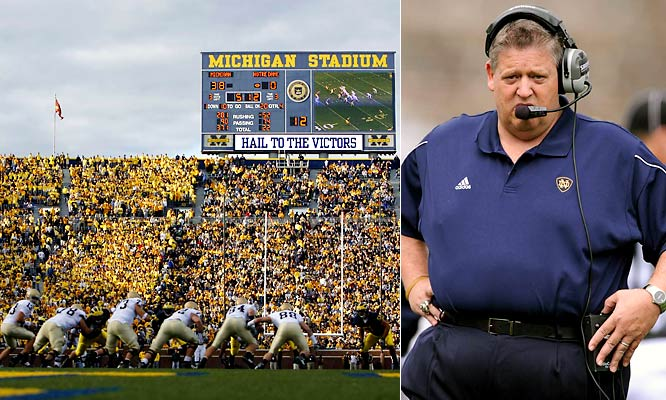 Last season the Irish lost the most games (nine) in program history and fielded the nation's worst scoring offense. In his fourth season at Notre Dame, Charlie Weis has no excuses in 2008.