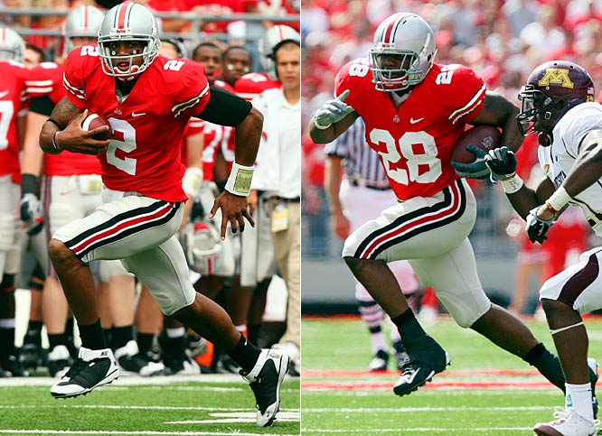 Featuring Terrelle Pryor and tailback Beanie Wells in the same backfield for the first time, the Buckeyes enjoyed the run of the field against Minnesota.