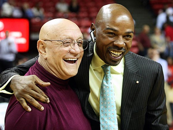 The former UNLV star and NBA vet did a little more than shoot hoops in Vegas -- he was a vice chairman of Nevada's Young Republicans and graduated with a degree in political science.