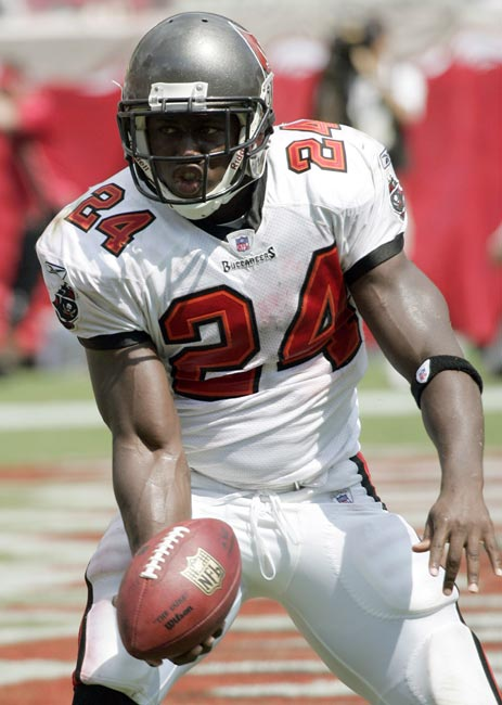 Tampa Bay Buccaneers running back Carnell Williams rushes for 158 yards to become the first player in NFL history to start his career with three consecutive 100-yard rushing games. Williams' total of 454 yards in his first three games also is a record (Alan Ameche, 410).