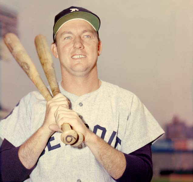 At Tiger Stadium, Al Kaline becomes the first player in franchise history to have his uniform number retired. The Hall of Famer, who wore No. 6, roamed the outfield for Detroit from 1953 to 1974.