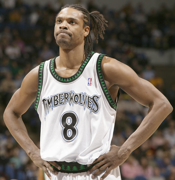 Timothy Gullikson (1951) <br>Mark McCumber (1951) <br>Maurice Cheeks (1956) <br>Gerald Williams (1963) <br>Latrell Sprewell (1970, pictured)<br>Clarence Weatherspoon (1970)<br>Greg Minor (1971) <br>Bob Wolcott (1973) <br>John Thomas (1975) <br>Gil Meche (1978) <br>Wali Lundy (1983) <br>Will Blalock (1983) <br>Bobby Parnell (1984) <br>Matt Grothe (1986) <br>Matt Barkley (1990) <br>