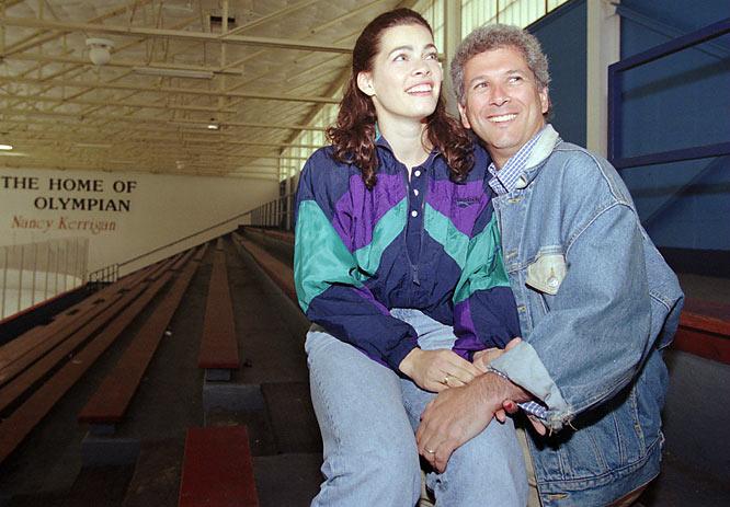 Ice skater Nancy Kerrigan weds her agent, Jerry Solomon.