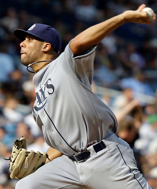 The first pick of the '07 draft, the lanky left-hander from Vanderbilt started his first game Monday and gave up four hits in 5 1/3 innings. Scouts love his poise; the Rays love how he gives manager Joe Maddon another option in September.