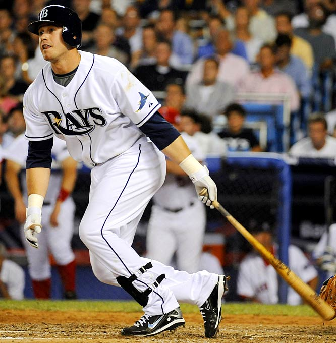 The rookie third baseman, the probable Rookie of the Year, has 11 RBIs in 11 games since his return from a broken wrist. The Rays, not a powerful offensive team, will need his power (25 homers, 20 doubles in '08) in October.
