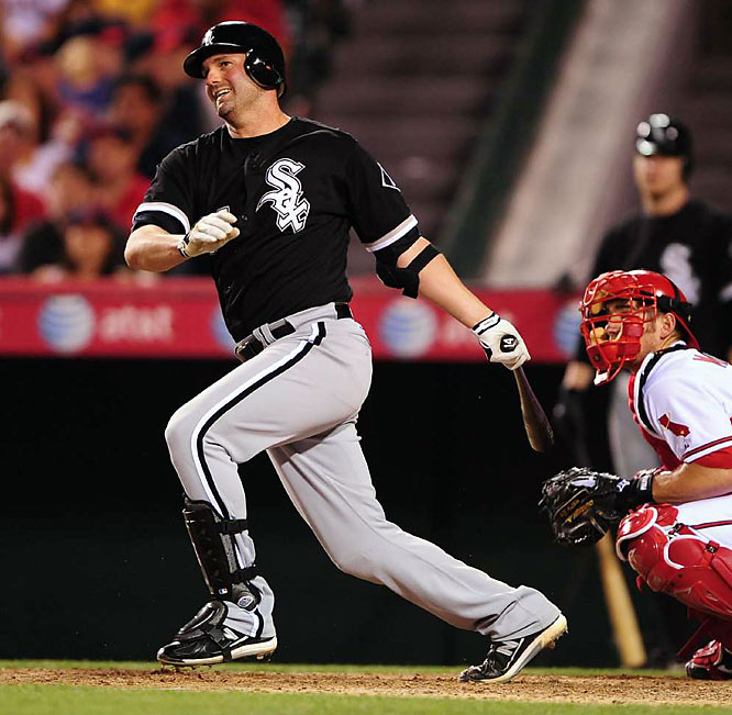 His early slump was one reason that the ChiSox brought in Ken Griffey Jr. In 35 games since Junior's arrival, Konerko is hitting .319 with nine homers and a 1.055 OPS. Not that he felt any pressure to perform or anything.
