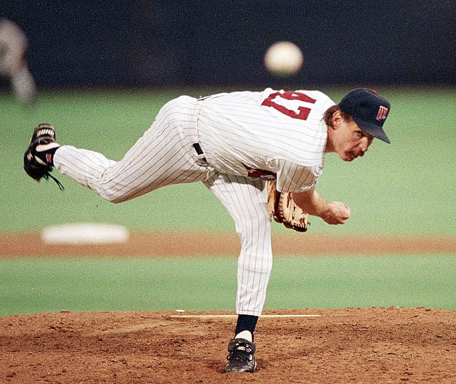 Making three starts in just nine days and winning two, Jack Morris pitched a 10-inning Game 7 shutout that earned him the Series MVP and the Twins the 1991 World Series championship.