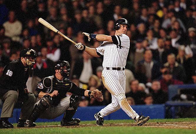 Tino Martinez's 2001 blast.