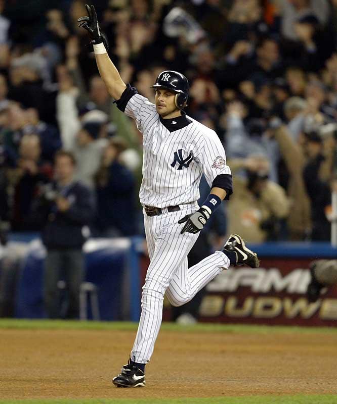 Aaron Boone's homer in 2003.