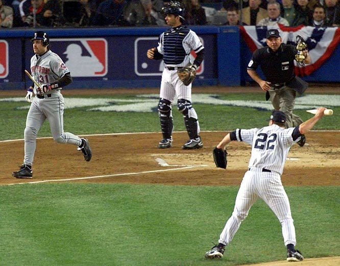 Roger Clemens's flip out in 2000.