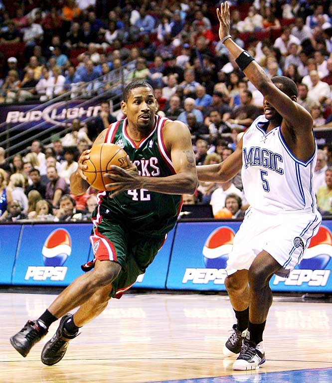 Bell reluctantly returned to Milwaukee last season after the Bucks matched the Heat's five-year, $18 million offer for the then restricted free agent. The 29-year-old guard played like he preferred to be elsewhere, especially before the All-Star break, when he averaged 6.6 points on only 36 percent shooting. One of the few holdovers from the Bucks' busy offseason, Bell will be competing with Luke Ridnour, Ramon Sessions and Tyronn Lue for minutes.