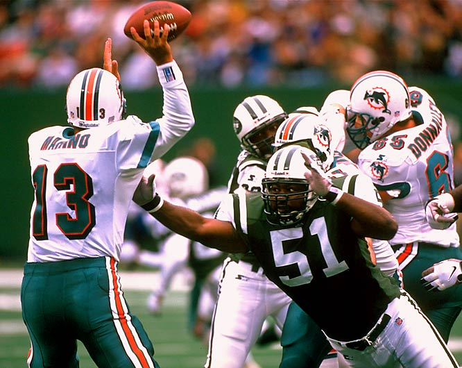 The Jets lead the overall series 49-44-1, but lost to the Dolphins in the 1982 AFC Championship Game. The arrival of Dan Marino pushed the rivalry to its peak in the 1980s.