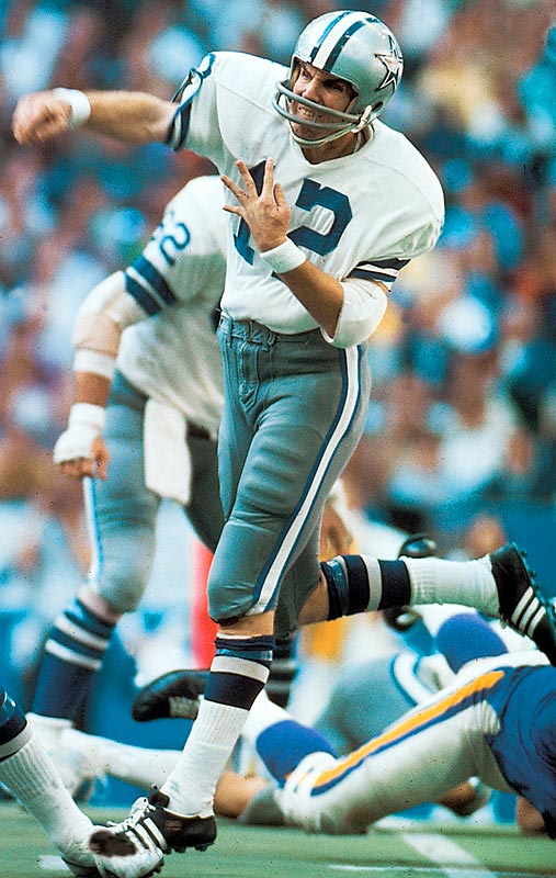 Roger Staubach led the Cowboys at quarterback -- after sharing time with Craig Morton during the first half of the season -- but it was the Cowboys defense that gave up just 18 points in three playoff games.