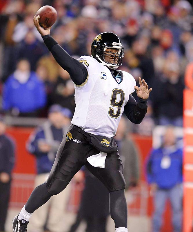 The Jaguars have closed the gap on the Colts in recent years, but have been unsuccessful wrestling the crown from the reigning five-time division champs. QB David Garrard stepped up as a passer last season, and provided an adequate complement to the Jaguars' powerful rushing attack. If he can continue his development, the Jaguars have a chance to make a major breakthrough in 2008.