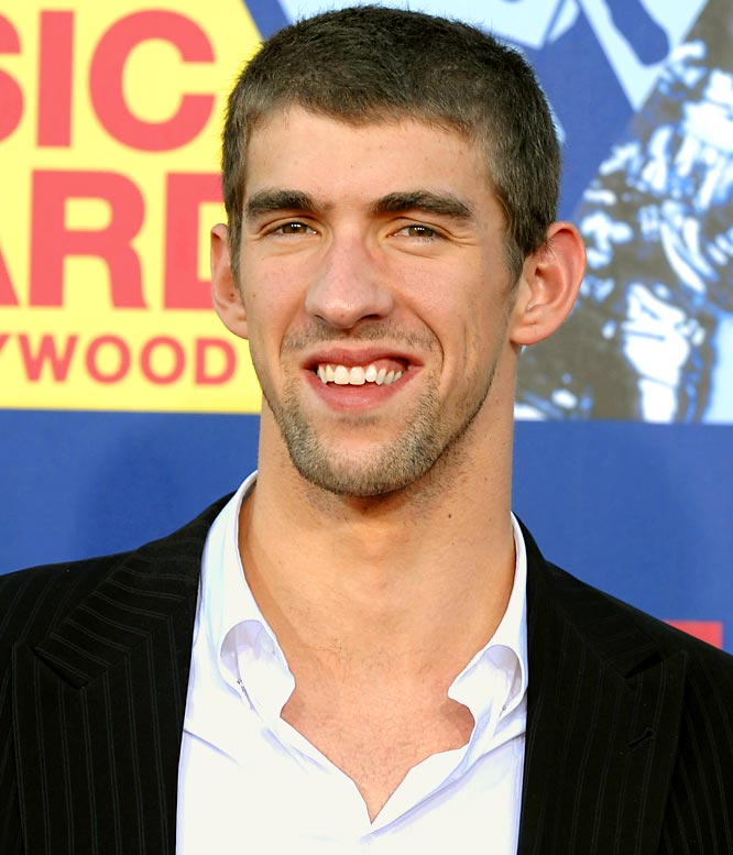 After filming a cameo for <i>Entourage</i> in New York last week, Phelps and his massive entourage of about 40 friends were in Las Vegas at the Palms and attended the post Entourage Air party at the Playboy Club as he lived it up like a rock star, chatting it up with Playboy bunnies and being presented with the coveted Playboy VIP Membership Key at the Palms Pool & Bungalows, an exclusive perk not even Vinny Chase has.
