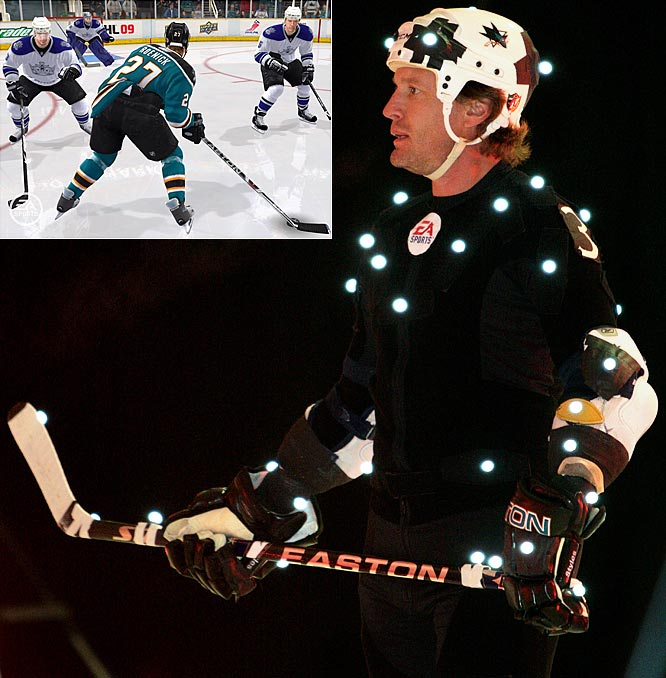 "Before EA Sports released ""NHL 09"" this week, they invited Jeremy Roenick for a motion capture session in Vancouver to make the game seem more realistic. While the game looks great, I still long for the pixilated version of ""NHL 94"" that was made famous in ""Swingers"" when Vince Vaugn, playing with the Chicago Blackhawks, says, ""It's not so much as it's Roenick,"" as he's destroying the ""finesse"" Kings with Wayne Gretzky. ""My abilities in Sega Genesis were all time,"" he told me. ""I became friends with Vince Vaugn a few years later and he told me that he grew up in Chicago and he had to put me in the movie in someway just out of respect so I thought that was cool."""