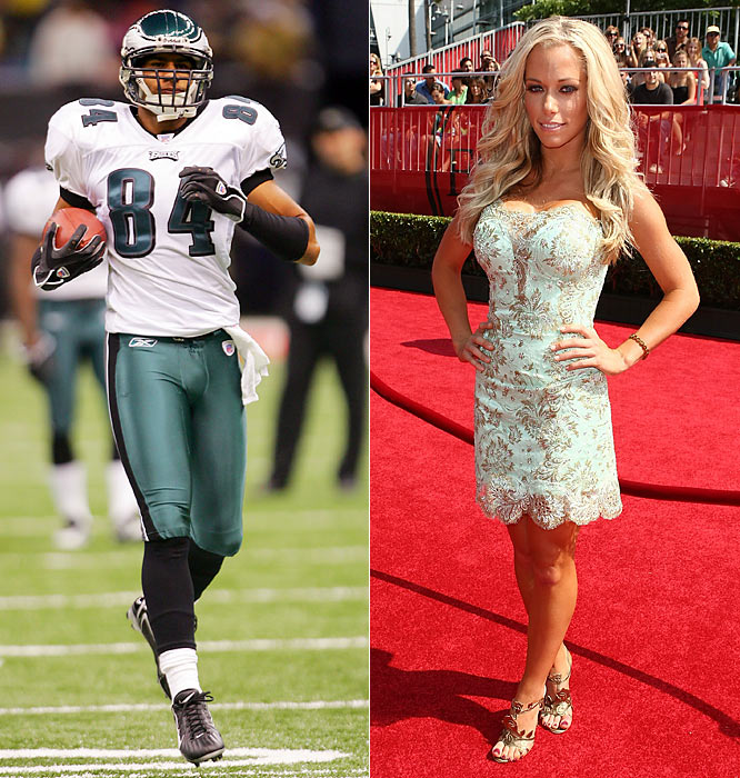 "The newest couple to hit the sports world became official (at least on the blogosphere) last week as Kendra watched Baskett from a private box at ""The Linc"" on Sunday after the two were seen dining together in Philadelphia during the week. The lovebirds have also been dropping hints about their relationship on MySpace. How cute. What are the odds of a Kendra-Jessica Simpson cat fight during the Eagles season finale against the Cowboys on Dec. 28?"