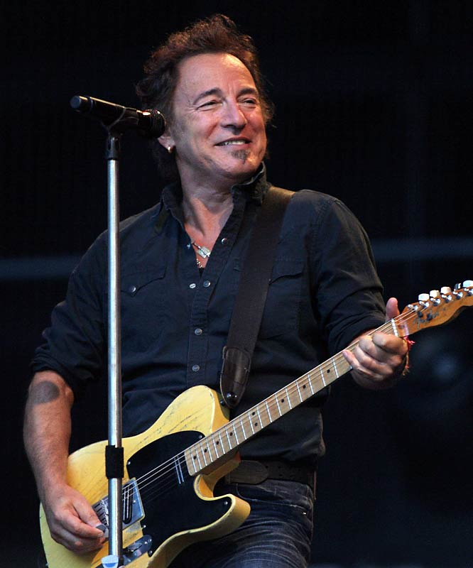 """It was the worst-kept secret in league history, but """"The Boss"""" was finally announced as the halftime act for Super Bowl XLIII, continuing the NFL's tradition of hiring old men for halftime entertainment since Janet Jackson' infamous wardrobe malfunction four years ago. Since 2004, the NFL has hired the Rolling Stones, Paul McCartney, Prince and Tom Petty. At this rate, I fully expect the league to take Bon Jovi up on his offer to do the show in 2010."""