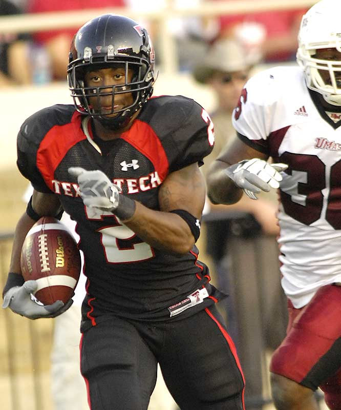 It was just another day at the office for the high-octane Red Raiders, or point-a-minutemen. Led by Shannon Woods (161 total yards, 3 TDs), 4-0 Texas Tech now gets two weeks to prepare for its Big 12 opener against Kansas State.
