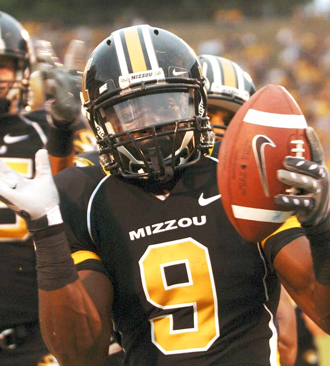 The Tigers are always a threat to score 70 with Jeremy Maclin in the lineup. The Mizzou sophomore racked up six catches for 172 yards and 3 TDs -- the kind of numbers that jump-start Heisman campaigns.