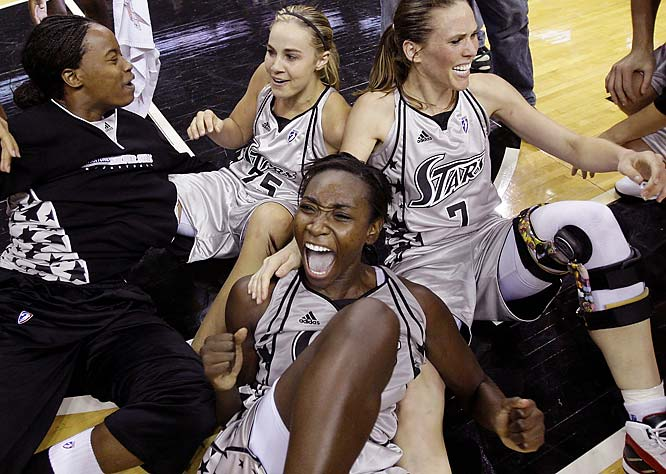 Young scored 18.7 a game and grabbed six rebounds a night to help the Silver Stars into their first-ever WNBA Finals.