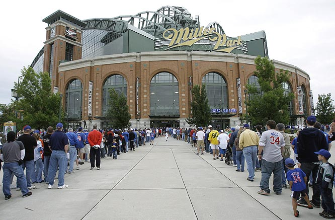 The game was relocated to the Brewers' Miller Park because of Hurricane Ike. Even though the Astros were deemed the home team ...
