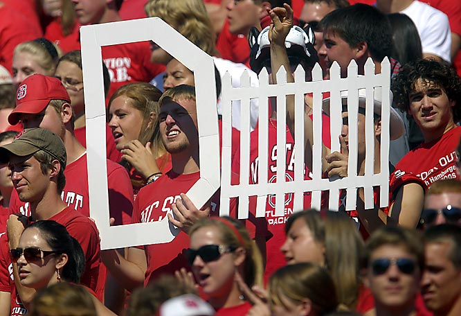 Boston College scored 38 against NC State on Saturday, so clearly this D-Fence sign didn't do the trick.