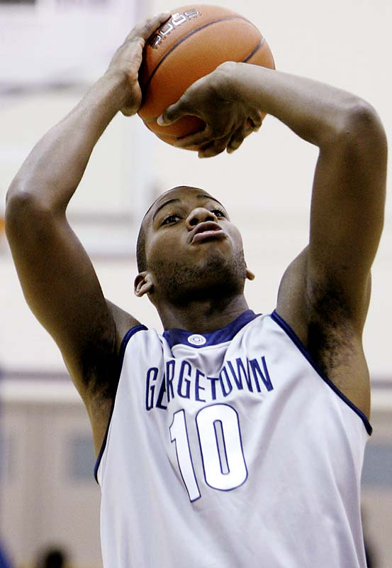 Monroe isn't going to be an All-America in '08-09, but he can still make a sizable impact. There's a starting job waiting for him -- Roy Hibbert's vacated five-spot -- and the 6-10 freshman's skill set is a good fit for Georgetown's offense. Monroe has the ability to not only score in the post but also drive to the basket from the perimeter <i>and</i> knock down three-pointers.