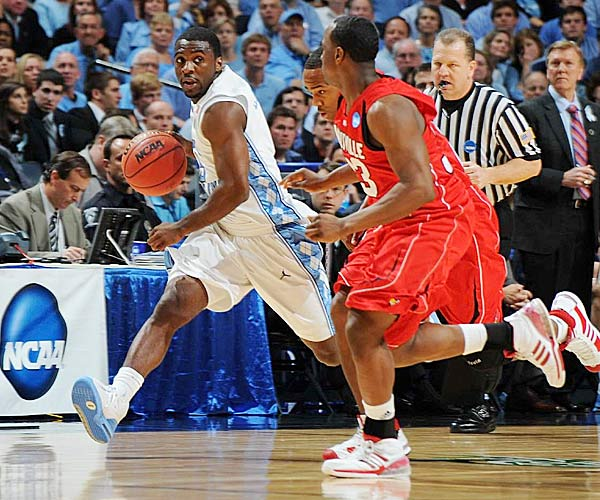 The Heels are tops in talent <i>and</i> experience. Lawson (12.7 ppg, 5.2 apg), pictured, would have been a first-round draft pick in June, had he not had a run-in with the law in Chapel Hill. Fellow junior Wayne Ellington (16.6 ppg) would be the leading scorer on 99 percent of D-I teams; he just happens to be playing with Wooden Award winner Tyler Hansbrough. And Frasor, when he's healthy, might be the best backup point guard in the country.