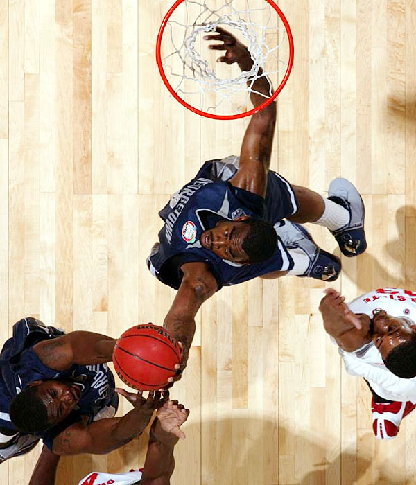 Monroe, a 6-foot-10 power forward, was at one point ranked the No. 1 overall player recruiting class of 2008. While he shouldn't enter with Oden- or Beasley-level expectations, he'll be a solid replacement for Roy Hibbert on the Hoyas' front line. Summers, pictured, is expected to become Georgetown's No. 1 scoring option this season, after averaging 11.1 points per game as a sophomore.