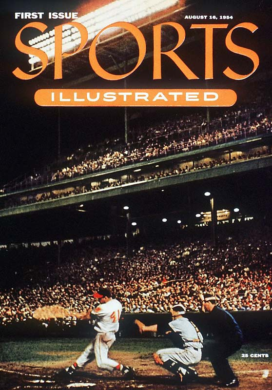 With this cover, Sports Illustrated was launched. The magazine promised a full, coherent weekly recital of a fascinating world in itself, the wonderful world of sport. Fifty-four years later, the magazine still delivers on its promise.