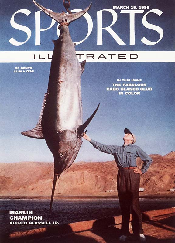 Before the NCAA basketball tournament became a national obsession, the only March Madness in sports came from Marlin fishing champion, Alfred Glassell, Jr., who, almost inexplicably, graced the cover of SI in 1956.